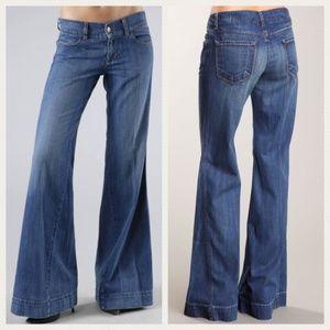 J BRAND Kat Wide Leg Flare Jeans